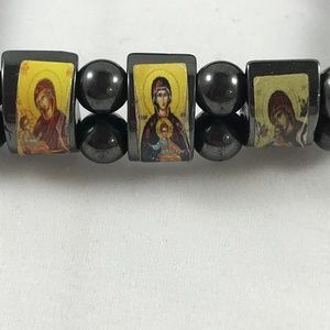 Fashion Jewelry Womens Bracelet Religious Figures